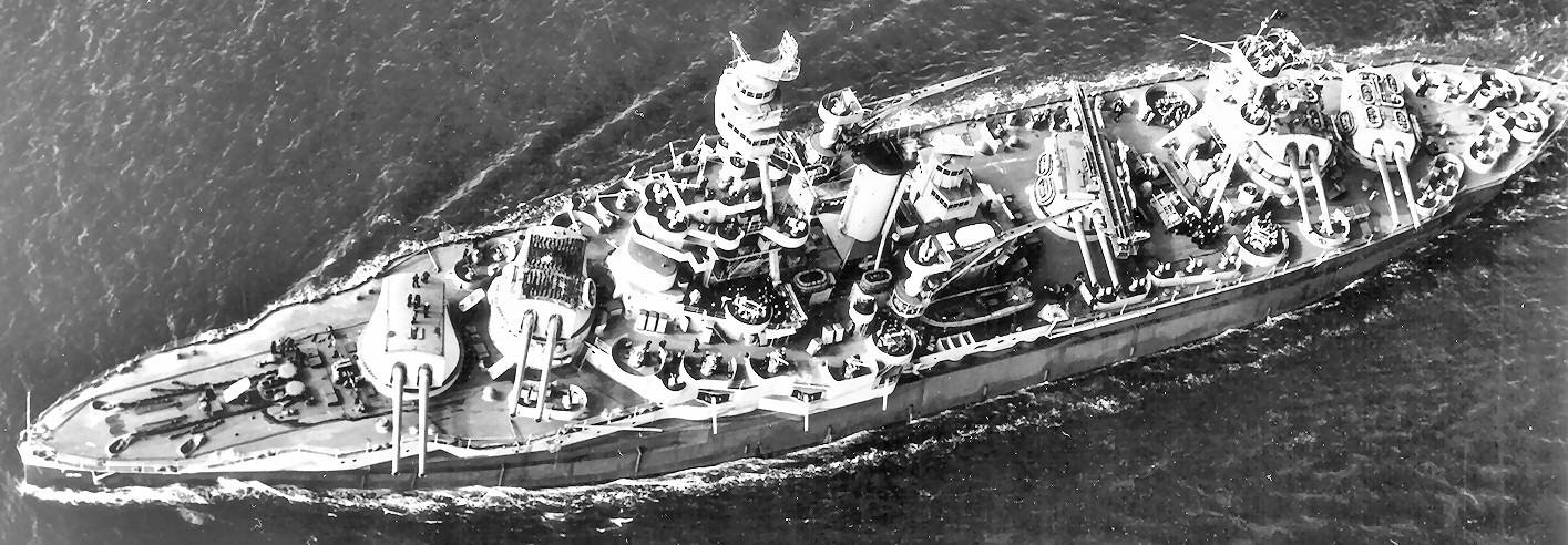 battleship texas bb35 world war ii 1943